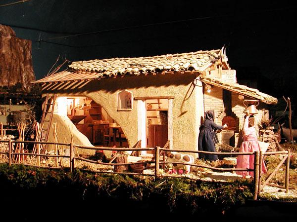 Foto del presepe tanti bei presepi da ammirare for Foto di case tradizionali